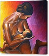 Affection Canvas Print
