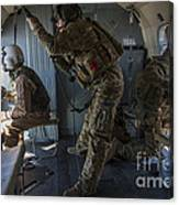 Afghan Air Force Members Canvas Print