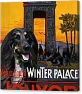 Afghan Hound Art - Luxor Poster Canvas Print