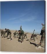 Afghan National Army Commandos Canvas Print