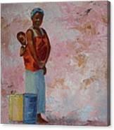 Africa Child Canvas Print