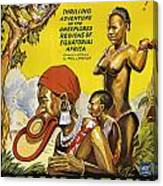 Africa Speaks Canvas Print