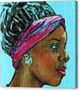 African American 5 Canvas Print