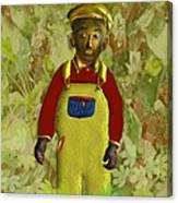 African American Kid Art Canvas Print