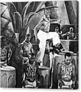 African American Musical Scene Canvas Print