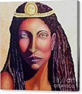 An African Face Canvas Print