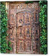 African Door Parker Palm Springs Canvas Print