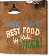 African Food Canvas Print