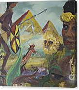 African Gold Canvas Print