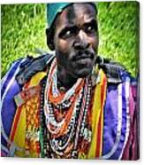 African Look Canvas Print