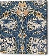 African Marigold Design Canvas Print