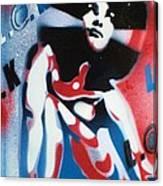 Afro America Canvas Print