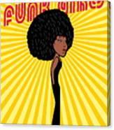 Afro Disco Girls Canvas Print