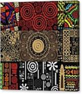 Afroecletic II Canvas Print