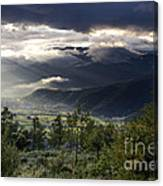 After A Pyrenean Storm 1 Canvas Print