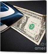 After Money Laundry Canvas Print