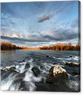 After The Rain - Square Canvas Print