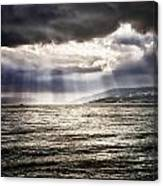 After The Storm Sea Of Galilee Israel Canvas Print