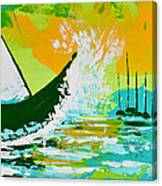 After The Wake Canvas Print