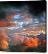 After Tornado Skyscape Canvas Print