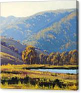 Afternnon Light Lithgow Canvas Print