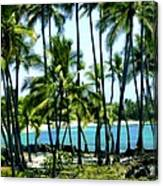 Afternoon At Kakaha Kai Canvas Print