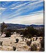 Afternoon At Red Rock Canvas Print