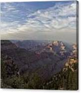 Afternoon At The Canyon Canvas Print