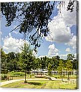 Afternoon At The Park Canvas Print