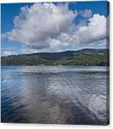 Afternoon Clouds Over Big Lagoon Canvas Print