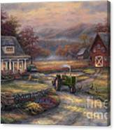 Afternoon Harvest Canvas Print