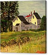 Afternoon in Peraquid Canvas Print