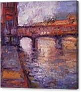 Afternoon On The Arno Canvas Print