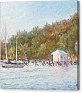 Afternoon On The Bay Canvas Print