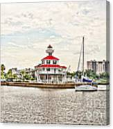 Afternoon On The Water - Hdr Canvas Print