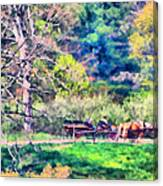 Afternoon Ride Canvas Print