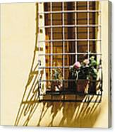 Afternoon Shadow In Montepulciano Canvas Print