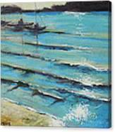 Afternoon Shoreline Canvas Print