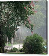 Afternoon Showers Canvas Print