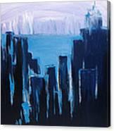 Afternoon Skyline Canvas Print