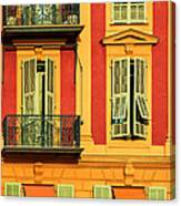 Afternoon Windows Canvas Print