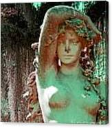 Afton Plantation Garden Statuary  Canvas Print