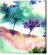 Against Light 1 Canvas Print