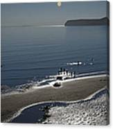 Against The Light - Compton Bay Canvas Print