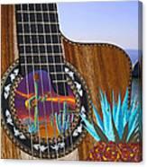 Agave Guitar Canvas Print