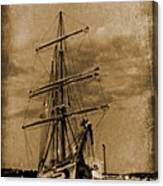 Age Of Sail Poster Canvas Print