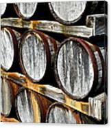 Aged Wine Canvas Print