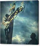 Agfacolor Jesus Canvas Print