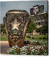 Aggie Ring Canvas Print