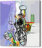 Self-renewal 14f Canvas Print